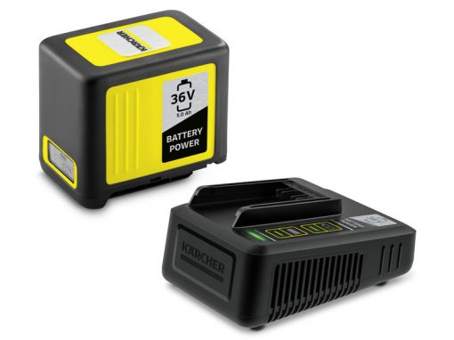 Karcher punjač i baterija Battery Power 36/50