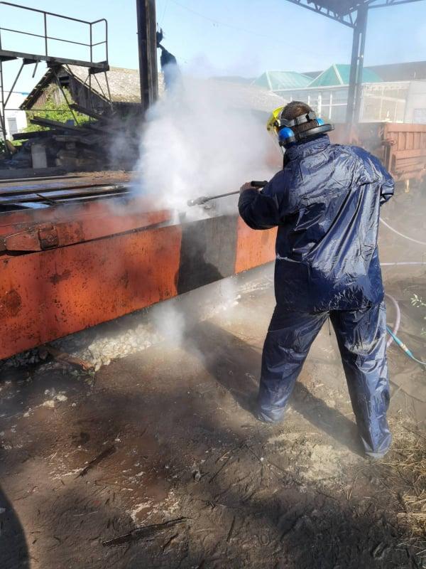 Usluge industrijskog čišćenja - Razaranje betona - Sanacija betona na mostu